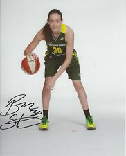 Breanna Stewart Signed 8 x 10 Photo Seattle Storm Womens Basketball Wnba Uconn