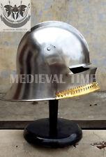 SCA LARP Gothic Style Medieval German Sallet Helmet Medieval Gift