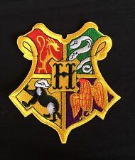 HOGWARTS XXL HARRY POTTER WIZARD SCHOOL CREST.DIY CLOAK IRON PATCH.BOOK COSTUME