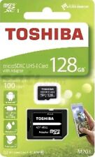 128GB TOSHIBA MICRO SDXC UHS-I MEMORY CARD 100MB/S CLASS 10 with adapter