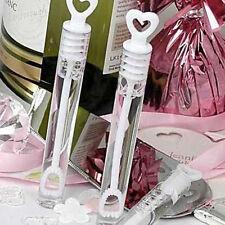 Bubble Bottles Love Heart Design Soap Water Best Wedding Party Decor 24pcs