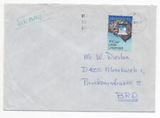 1975 NETHERLANDS Air Mail Cover AMSTERDAM to MEERBUSCH GERMANY SG1208
