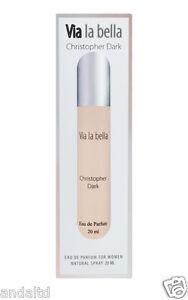 Christopher Dark Via la bella Eau De Parfum Natural Spray for Women 20ml
