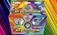 Kit du Dresseur-Pikachu Catcheur&Suicune-2x 30 Cartes Pokemons Françaises Neuves