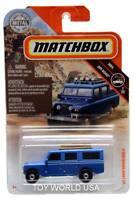2019 Matchbox #64 MBX Off-Road '65 Land Rover Gen II w/lightbar roof rack