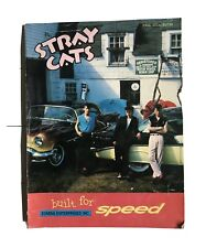 Stray Cats - Built For Speed - Piano Vocal Guitar - Songbook