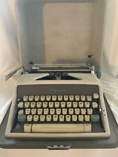 Vintage 1960's Olympia Deluxe Portable SM 7 typewriter Mid Century