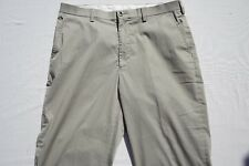 Orvis Flat Front Khaki Chino Ourdoor / Casual Pants. Men's Size 36. Excellent!