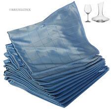 10 Microfaser Gläsertücher Glastücher 50 x 60 cm Weinglas TuchTücher Dekanter