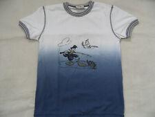MONNALISA schönes T-Shirt Donald Duck blau weiß Gr. 152 TOP  ST819