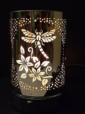 Dragonfly Silver Ace Gift Collection Night Light Oil Burner Sensor Touch On Off