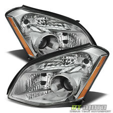 Replacement Headlamps Fits 2007 2008 Maxima Halogen Headlights Pair Left+Right
