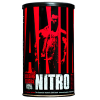 UNIVERSAL NUTRITION ANIMAL NITRO 44 Packs GOLD STANDARD EAA ANABOLIC AMINO STACK