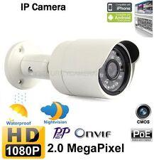 1080P HD 2Megapixel Onvif Outdoor Bullet IR Security CCTV Network IP Camera PoE