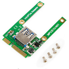 Best Mini Pcie to Usb2.0 Adapter Card Pci Express Expansion to Usb 2.0 Converter
