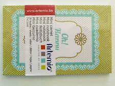 Mini carnet Hapiness Vert 11x7cm 30 feuilles Artemio DIY scrapbooking papeterie