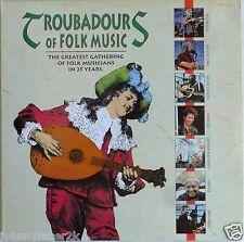 TROUBADOURS of FOLK MUSIC Laserdisc Janis Ian Richie Havens Arlo Guthre LD Rare