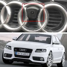 HD CCD Front View Camera Car Logo Embedded Waterproof for Audi A4 2008-2018