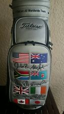 2005 Limited Edition Titleist World Staff Golf Bag Mancave Display Or Play Rare!