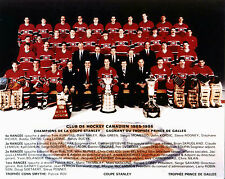 Montreal Canadiens 1985-86 Championship Team Photo