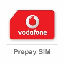 Vodafone Sim Card - Big Value Bundle - BRAND NEW - Free Postage - Voda PAYT