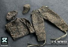 Soldier Country 1:6 scale WWII German SS Peas Camouflage Uniforms Suit SC-1002