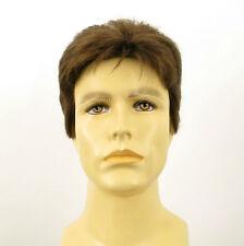 Perruque homme 100% cheveux naturel châtain clair ref JACK 8