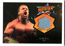WWE Triple H SummerSlam Event Used Mat Relic Card 2013 Topps Triple Threat DWC2