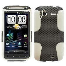 HTC SENSATION 4G T-MOBILE SPORTY HYBRID 2-TONE CASE GREY/WHITE