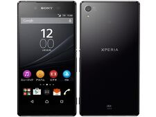 AU KDDI SONY SOV31 XPERIA Z4 ANDROID PHONE SMARTPHONE UNLOCKED JAPAN BLACK NEW