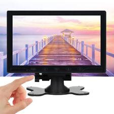 "TFT LCD 10"" inch CCTV Monitor Screen HD 1024*600 PC Display AV/RCA/VGA/HDMI 16:9"