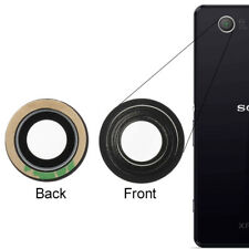 For Sony Xperia Z3 Z5 Compact Rear Back Camera Lens Cover + Adhesive D5803 E5803