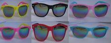 Kids 2 Tone Sunglasses Childrens Shades Girls Boys Coloured Mirrored Lens