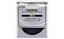 Hoya 49mm ALPHA Circular Polarizer CPL CRPL Cir-PL Glass Filter - Brand New