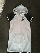 Girls Polo Ralph Lauren Hooded Sweater Dress Size Age 12-14  Years