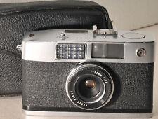 Ricoh Caddy half frame camera w/ Ricoh 25mm f2.8 lens and case.  NEEDS WORK