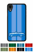 "MG Midget Convertible ""Stripes"" Cell Phone Case Apple iPhone and Samsung Galaxy"