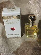 Moschino Couture Eau de Parfum EDP Mini for Women 0.13 oz 4 ml New in Box