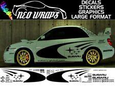 SUBARU WRC Satz SWRT WRX STI P1 Impreza Grafiken Aufkleber