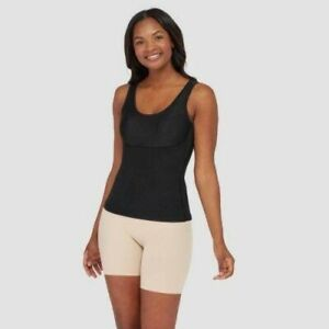 NWT Assets by SPANX Women's Shaping Tank - Black - M