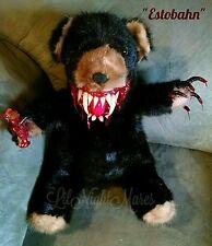 CLEARANCE! Ooak LNMs Haunted Mink Horror Teddy Bear Gothic dead Zombie doll