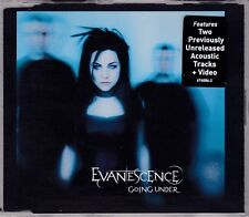 Evanescence - Going Under **2003 Australian 3 Track+CD ROM Video CD Single**