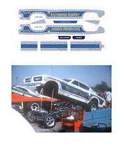 Baltimore Bandit Cuda Drag car 1/64 scale decal fits AFX Tyco Lifelike Autoworld