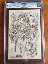 Avengers # 1 CGC 9.8 J Scott Campbell Sketch Stan Lee Edition