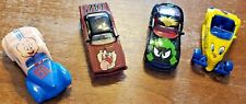 LOT OF 4 RACING CHAMPIONS WARNER BROS LOONEY TUNES COLLECTIBLE CARS SET 7