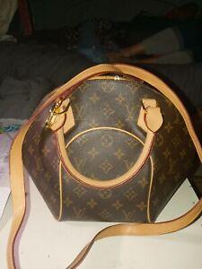 authentic louis vuittons handbags speedy 25 Monogram Brown Canvas Tote.