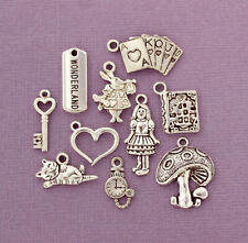 15 Love And Peace Charms Antique Silver Tone Tag SC634