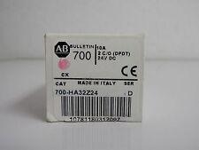 700-HA32Z24 NEW (1) ALLEN BRADLEY RELAY SERIE D