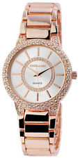 Excellanc Damen Armbanduhr 34 mm Metallarmband Rose Gold Damenuhr Armband Uhr