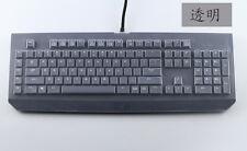 Clear Silicone Keyboard skin covers For Razer BlackWidow Ultimate Elite 2014